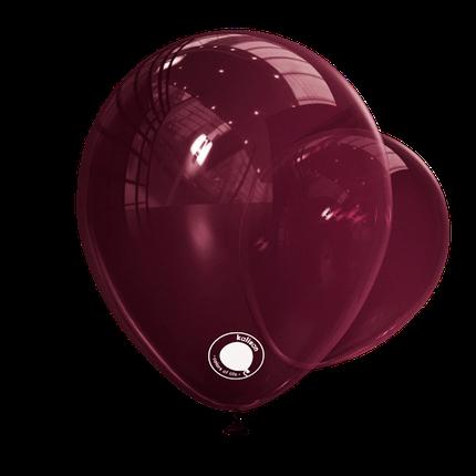 """Куля 12"""" (30 см) Kalisan декоратор Burgundy бургундія (Калисан), фото 2"""