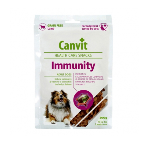 КАНВІТ ІММУНІТІ Canvit Immunity функціональні ласощі для імунної системи собак, 200 г