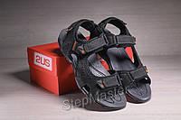 Сандалии мужские кожаные Merrell Sandspur Leather Sport Black