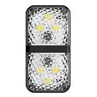 Сенсорная подсветка на дверцу автомобиля Baseus Warning Light (2 шт./уп.) Black