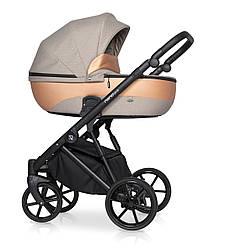 Детская коляска универсальная 2 в 1 Riko Nano Pro 04 Camel (Рико Нано, Польша)