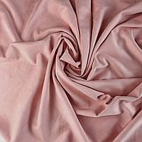 Замша штучна на дайвінгу. Рожева VH018. Ціна за відріз 25х49 см.