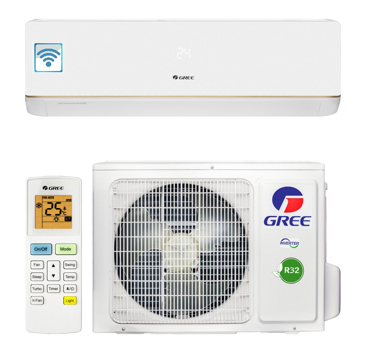 Кондиционер Gree GWH09AAB-K6DNA5A Bora Inverter -15 C ° + Wi-Fi