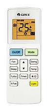Кондиционер Gree GWH09AAB-K6DNA5A Bora Inverter -15 C ° + Wi-Fi, фото 3