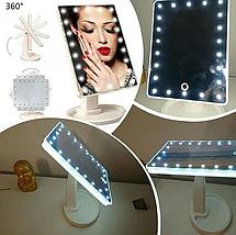 Зеркало для макияжа с  подсветкой Large Led Mirror, фото 3