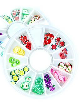 Фимо для дизайна ногтей (фрукты) , 1 шт