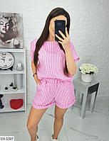 """Костюм 2-ка женский с шортами мод. 008 (42-44, 46-48) """"BARBARIS"""" недорого от прямого поставщика, фото 1"""