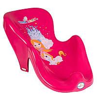 """Горка для купания Tega """" Princess"""" Розовая"""