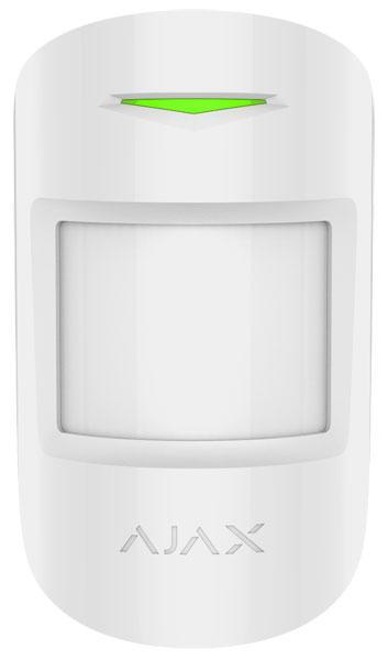 Беспроводной датчик движения Ajax MotionProtect, White