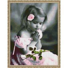 Вышивка бисером, Канва Дети Молитва девочки