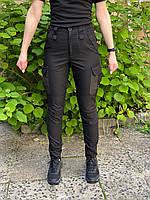 """Женские тактические брюки """"BAGIRA"""" BLACK, фото 4"""