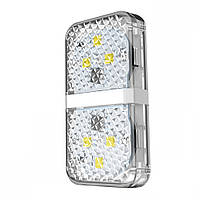 Сенсорная подсветка на дверцу автомобиля Baseus Warning Light (2 шт./уп.) White