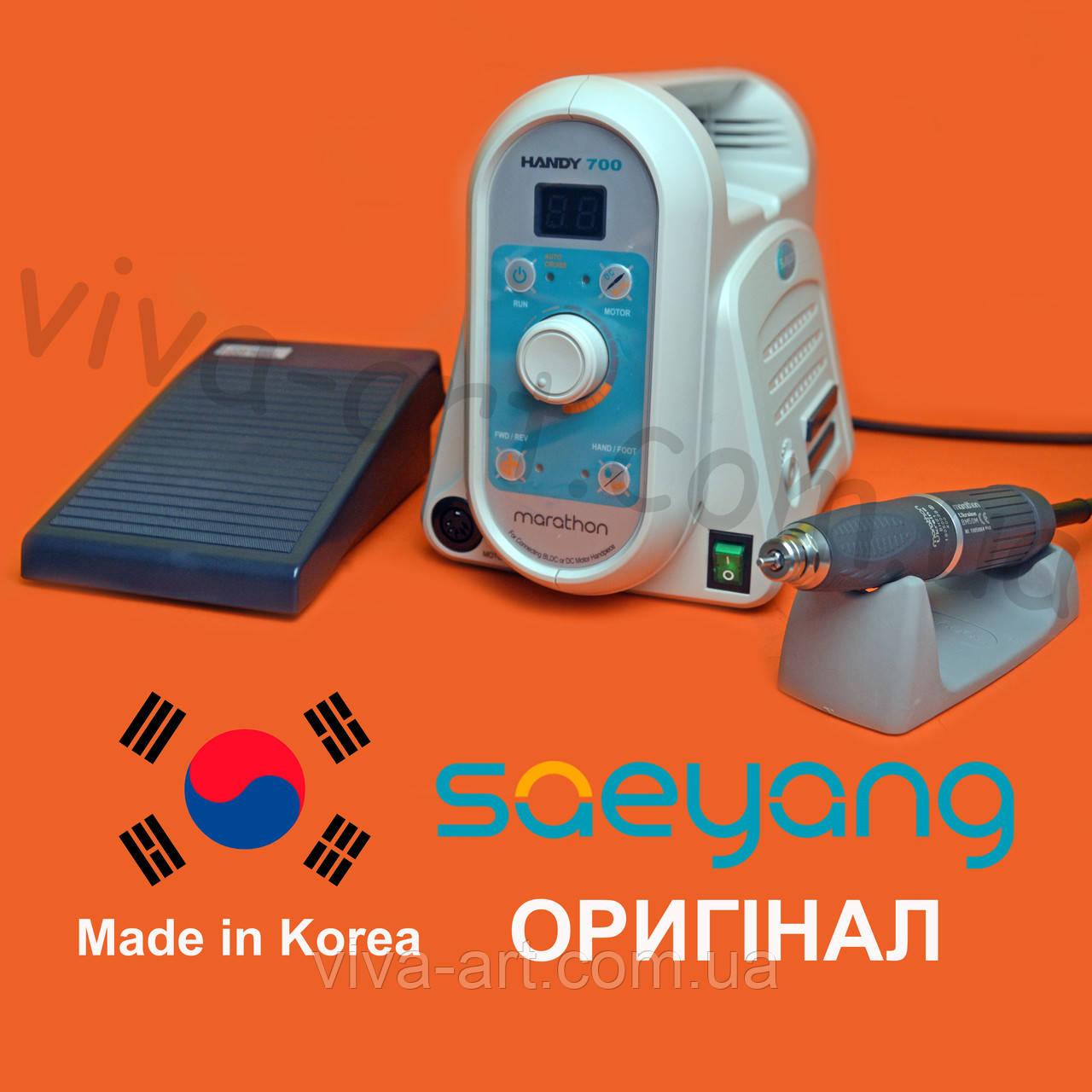 Потужний фрезер з безщітковим двигуном для педикюру Handy 700 / BM50M, до 50000 об / хв. Потужність 230W. ОРИГ