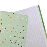 Блокнот 140*185/96 КЛ. с твердой обложкой Leaves YES код:151489, фото 2