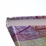 Блокнот 140*185/96 КЛ. с твердой обложкой Leaves YES код:151489, фото 3