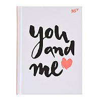 """Блокнот А6/64 КЛ. с твердой обложкой """"In love"""" YES код:151494"""