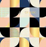 Блокнот 200*200/96 КЛ. с твердой обложкой Abstract YES код:151505, фото 5