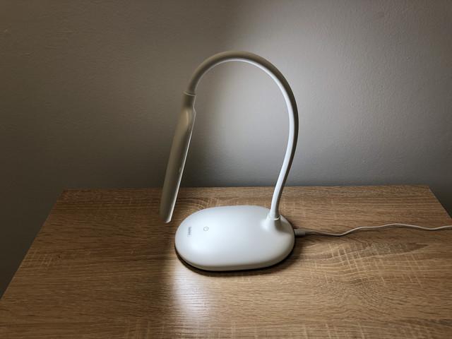 Настольная светодиодная LED лампа Remax Kaden RT-E365 (Сетевая, White)