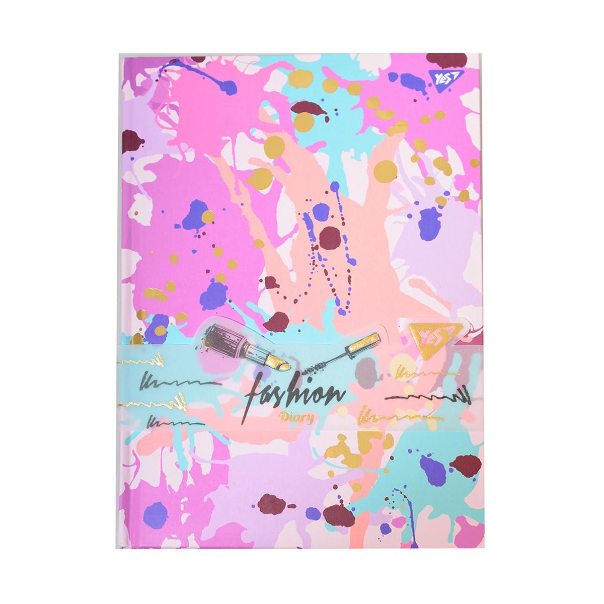 Блокнот-мотиватор для девочки YES Dreams серии Fashion 148 х 210 мм 64 л. код:151588