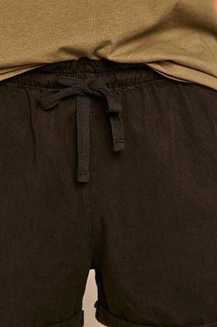 Шорты женские черные с высокой посадкой, фото 2