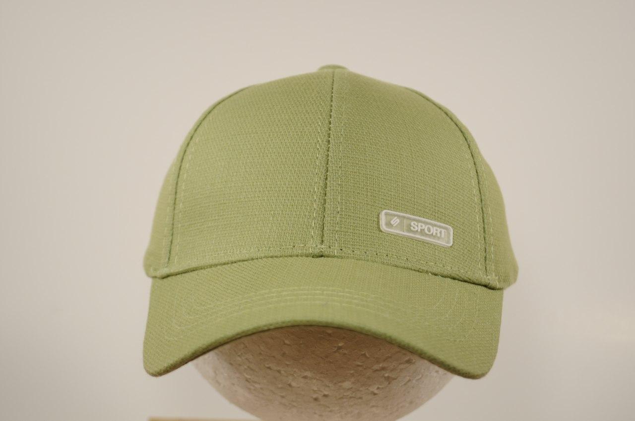 Бейсболки для мальчика  р. 52. 4 ― 6 лет, зеленая S2022_5