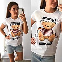 """Женская футболка """"Мишуня"""", фото 1"""