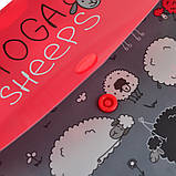 Папка-конверт YES на кнопке А4 Yoga sheeps код:491638, фото 3