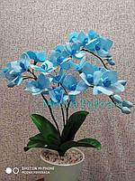 Ночник Орхидея в горшке с подсветкой,Орхидея светильник Ручная робота