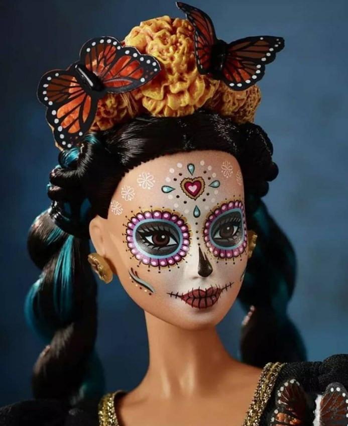 Barbie Dia de lo Muertos 2019. Это не Скелита Калаверас. Это Барби!