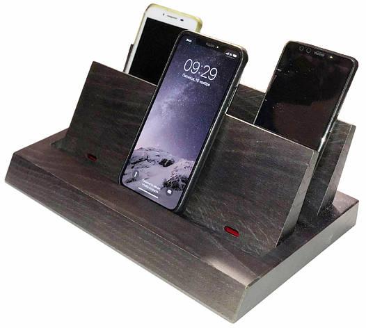 Акустический сейф ASU-6 ультразвуковая защита от прослушки для нескольких мобильных телефонов, фото 2