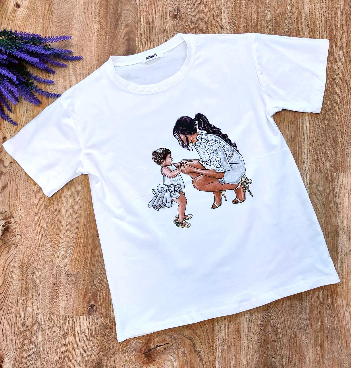 Стильная повседневная футболка Китай (42-44)