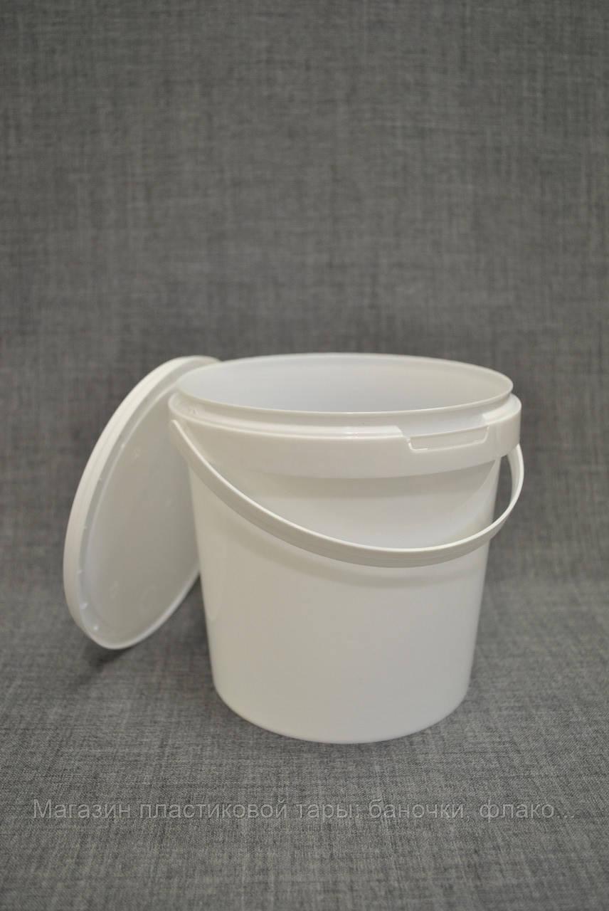 Ведро пластиковое 1.5 л круглое