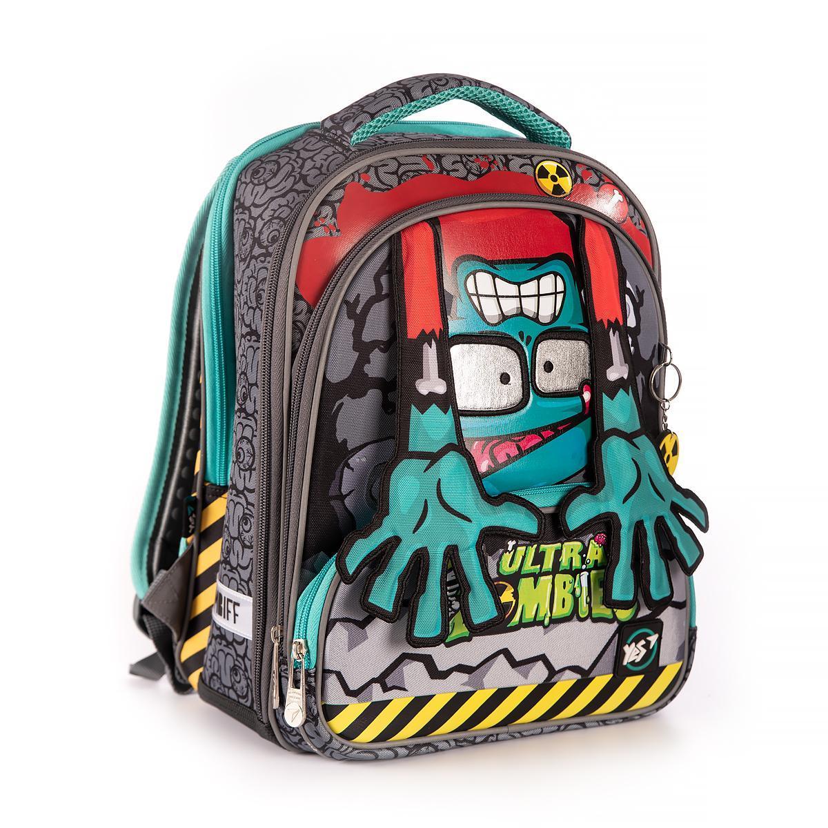 Рюкзак школьный Yes S-30 JUNO ULTRA Zombie код:558153