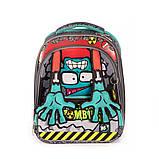 Рюкзак школьный Yes S-30 JUNO ULTRA Zombie код:558153, фото 2
