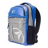 Рюкзак светоотражающий городской Yes T-32 Citypack ULTRA синий/серый код:558412, фото 2