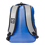 Рюкзак светоотражающий городской Yes T-32 Citypack ULTRA синий/серый код:558412, фото 3