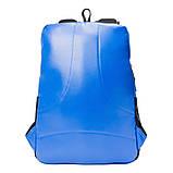 Рюкзак светоотражающий городской Yes T-32 Citypack ULTRA синий/серый код:558412, фото 4