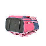 Рюкзак школьный Yes S-30 Juno Girls style розовый/голубой код:558444, фото 5