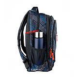 Рюкзак школьный Smart TN-07 Global черн/син код:558632, фото 2
