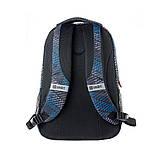 Рюкзак школьный Smart TN-07 Global черн/син код:558632, фото 4
