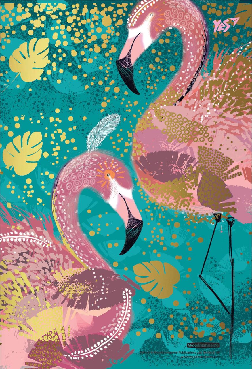Тетрадь В6/144 пл.обл. Opium. Flamingo YES код:681303
