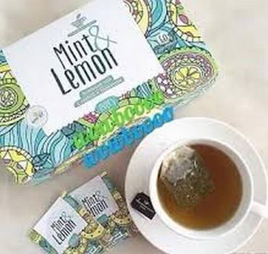 Every Mint&Lemon Зеленый чай с мятой и лимоном,120 гр, 60 пакетов в фольге по 2 гр