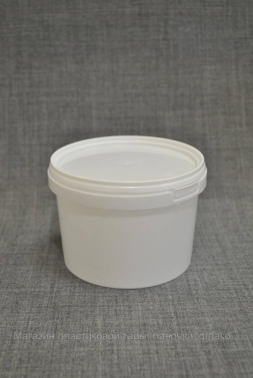 Відро пластикове 0.5 л кругле