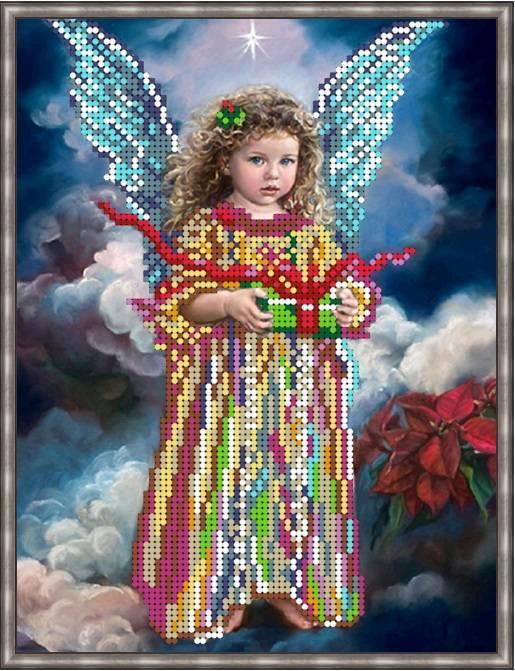 Вышивка бисером, Канва Дети С днем Ангела!