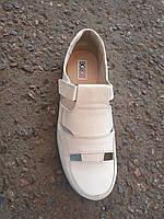 Мужские кожаные туфли летние большие размеры 46-49 р-р, фото 1
