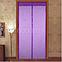 Дверная антимоскитная сетка-штора Magic Mesh на магнитах 100 х 210 см. СИРЕНЕВАЯ, фото 4
