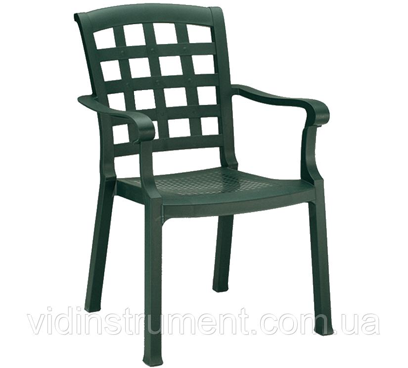 Кресло Papatya Паша зеленый