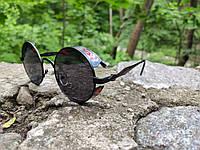 Стильные женские солнцезащитные очки DIOR (реплика) с поляризацией (красный)