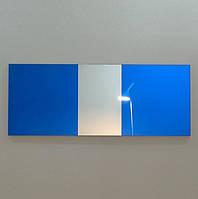 Зеркало настенное Aqua Stereo Blue 57x149 см (AbS1490x570)