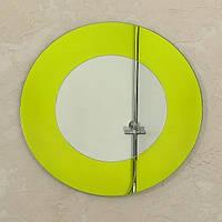Зеркало настенное круглое Aqua Rondo Yellow 750 мм (AyR750)